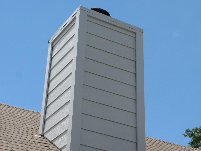 Custom Roof Chimney