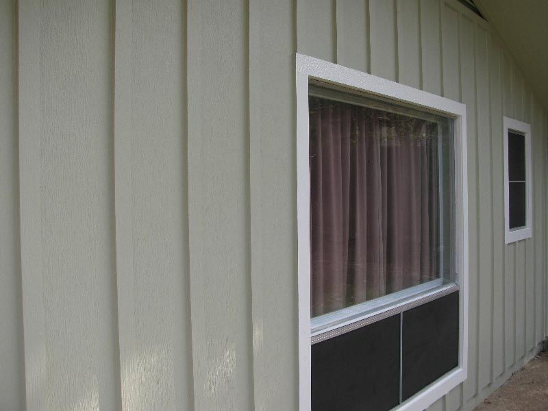 Fiber Cement Siding Replacement With Trim Work