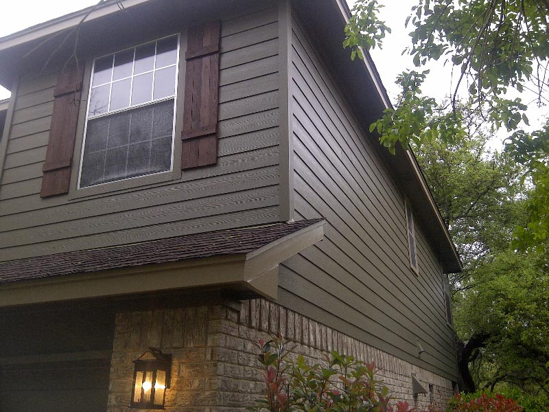 Timber Bark Color Plus Siding Installation