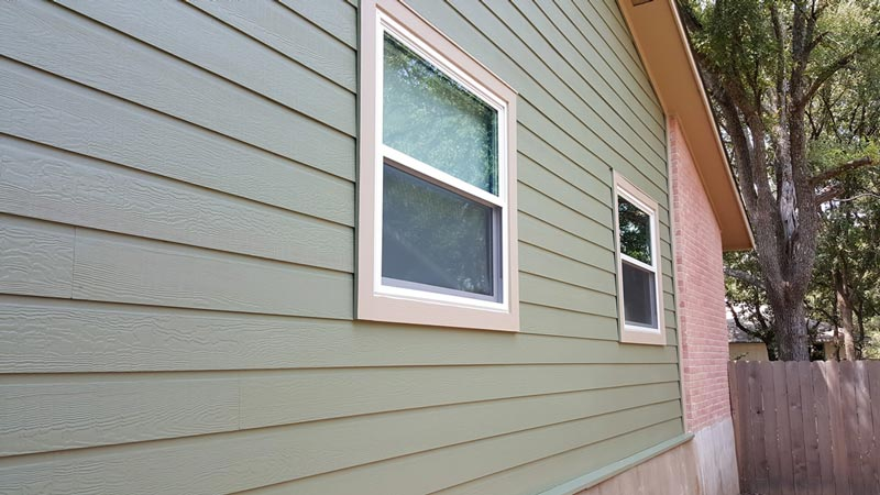 Whole House Siding Panel Replacement