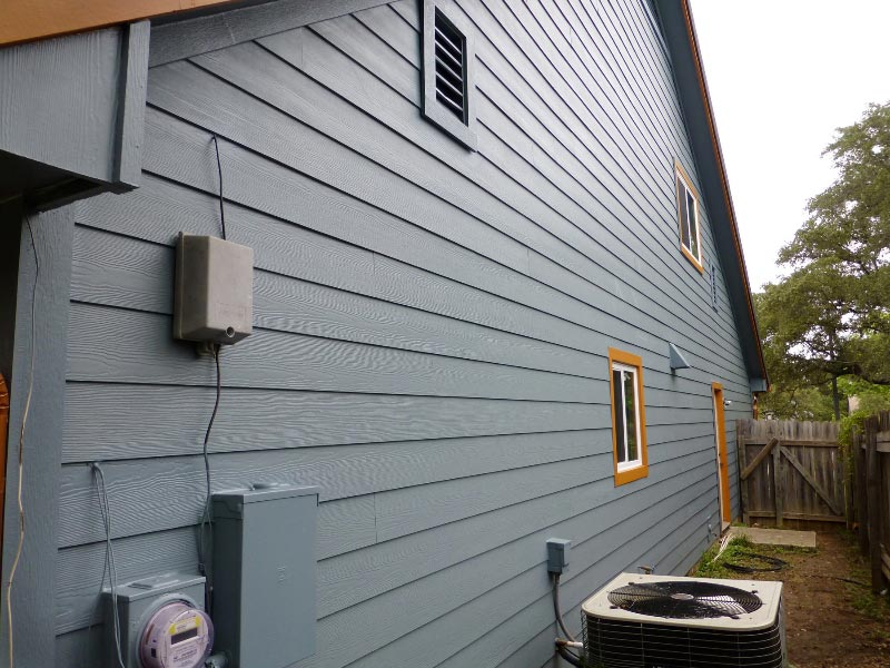 Wood Siding Repair - After