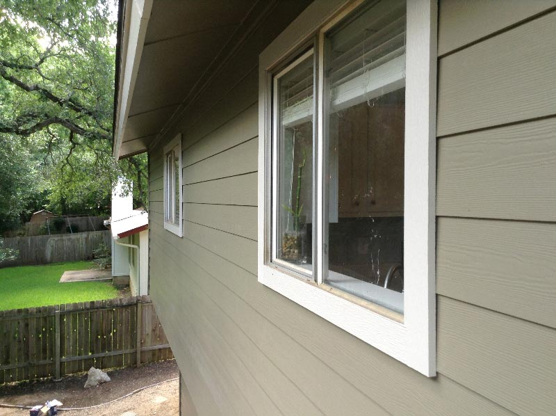 Woodstock Brown Fiber Cement Siding Replacement