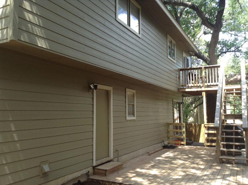 Woodstock Brown Fiber Cement Siding